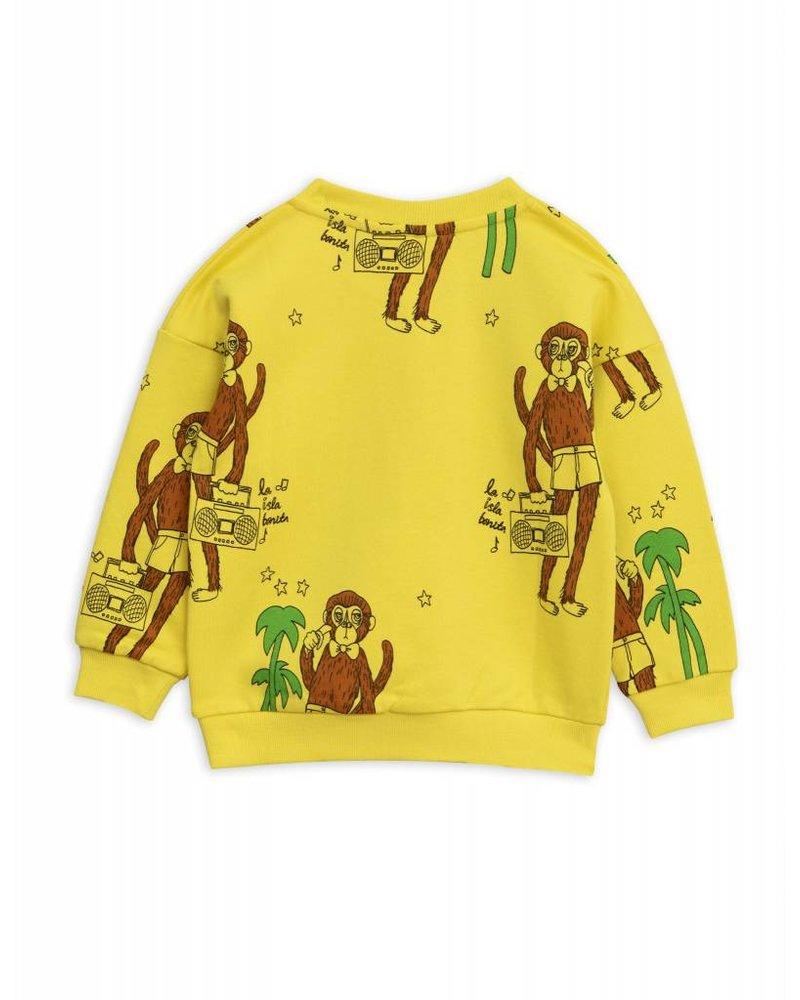 Sweater - Cool monkey yellow
