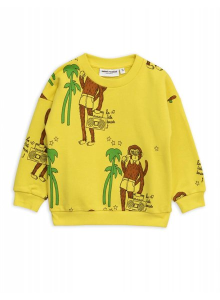Sweater - Cool monkey yellow