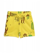 OUTLET // Sweatshorts - Cool monkey yellow