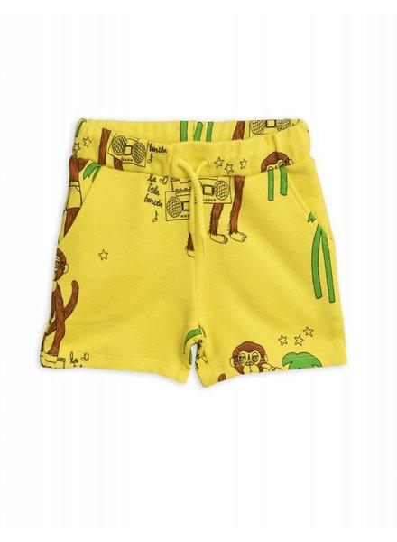 OUTLET // Sweatshorts - Cool monkey yellow