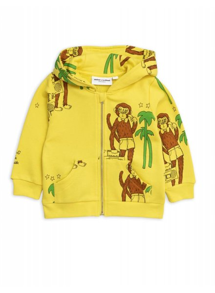 Zip hoody - Cool monkey dr yellow