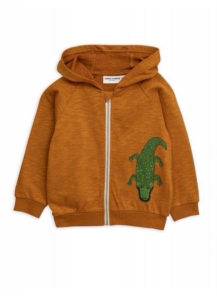 Zip hoody - Crocco brown