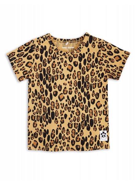T-shirt - Leopard beige