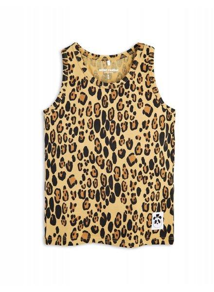 Tanktop - Leopard beige