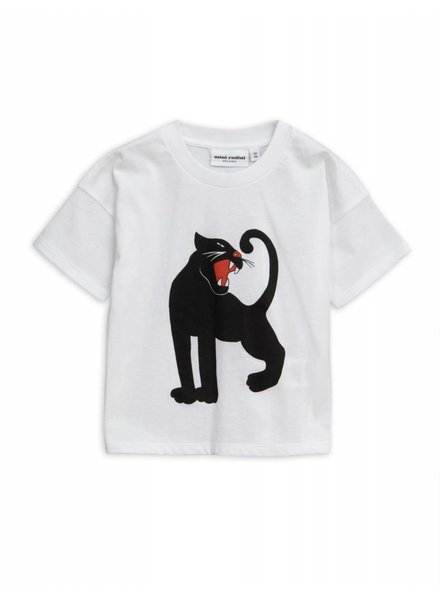 T-shirt - Panther white