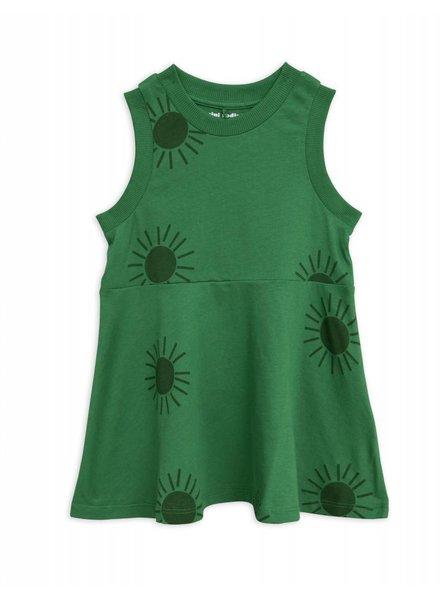 Dress - Sun green
