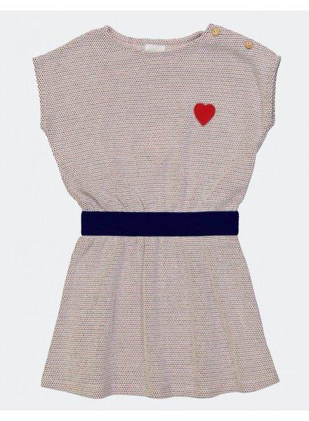 Dress - Radio Crochet Navy Fraise