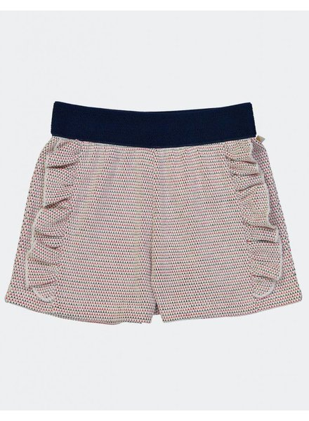 Short - Radio Crochet Navy Fraise