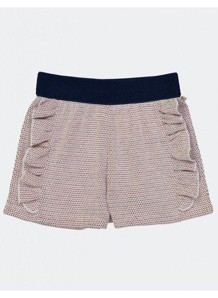 Short - Radio Crochet Navy Fraise