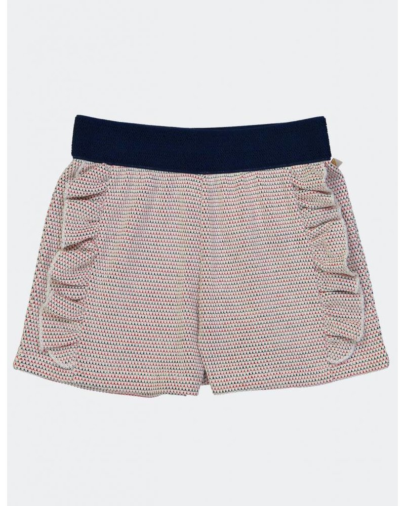 OUTLET // Short - Radio Crochet Navy Fraise