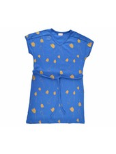 Dress - Tulip Gold darkblue v-neck