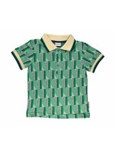 Polo Shirt - Green Stripes