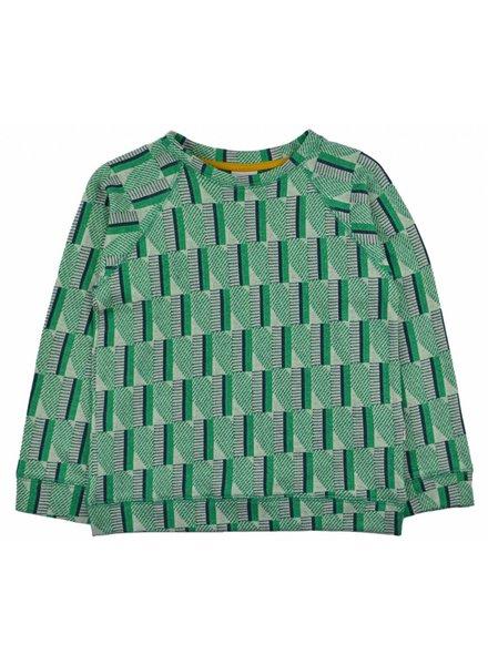 Sweater - Green Stripes