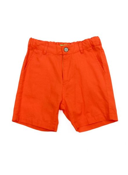 Short - Astor red orange