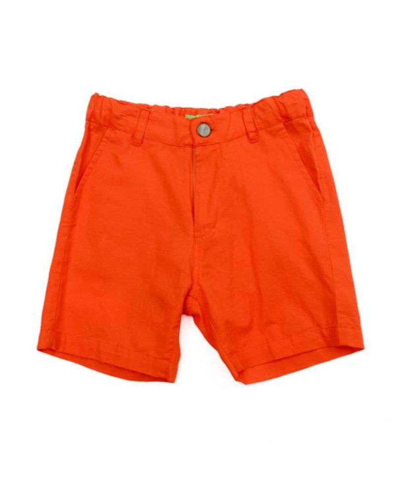 Short - Astor red orange