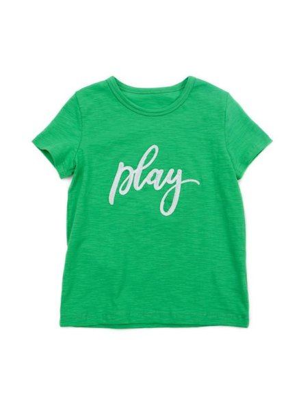 OUTLET // T-shirt - Louis grass green