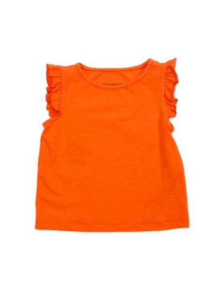 Top - Eline red orange