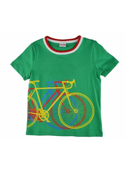 T-shirt - Bike Green
