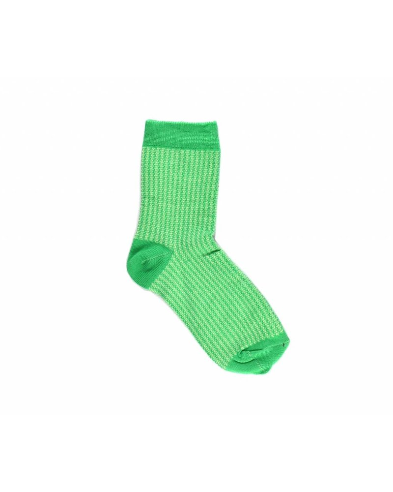 Socks - Bicolor Green