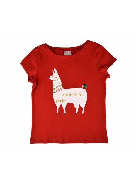 OUTLET // T-shirt - Lama Red