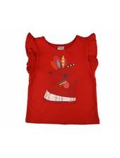T-shirt - Red Ruffle Rabbit