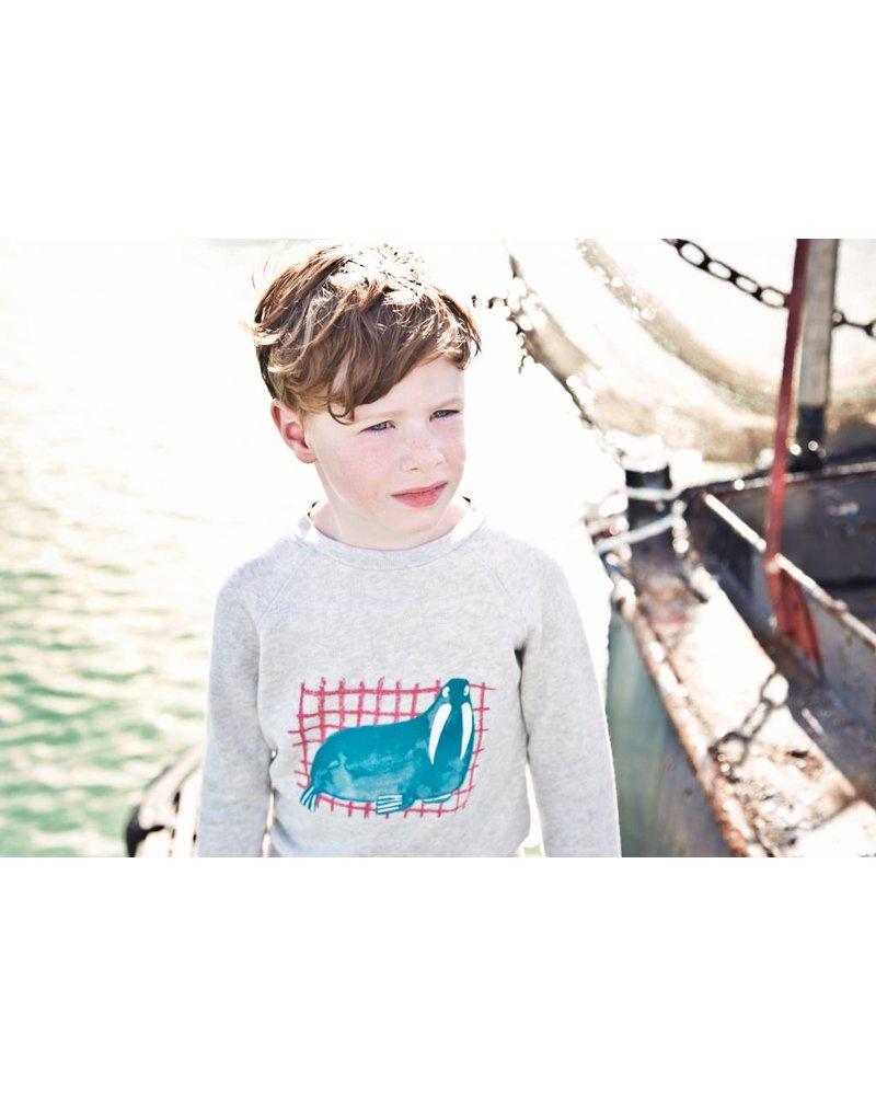 Sweater - Bass walrus greychine