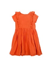 Dress - Jacqueline red orange