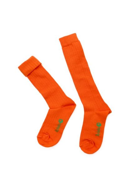 Kneesocks - Jordan red orange