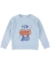 Sweater - Bass crab sky