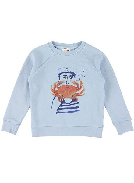 Sweater - Bass crab sky
