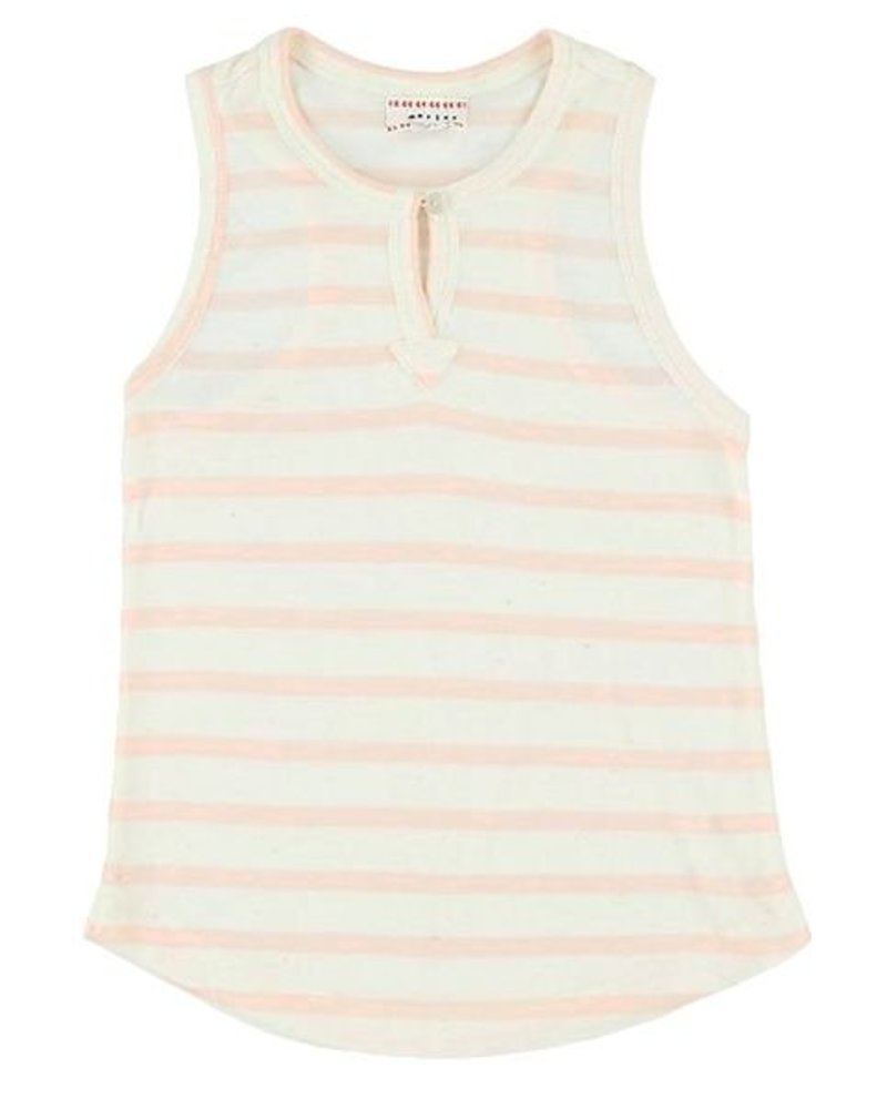 Top - Harriet stripe rose