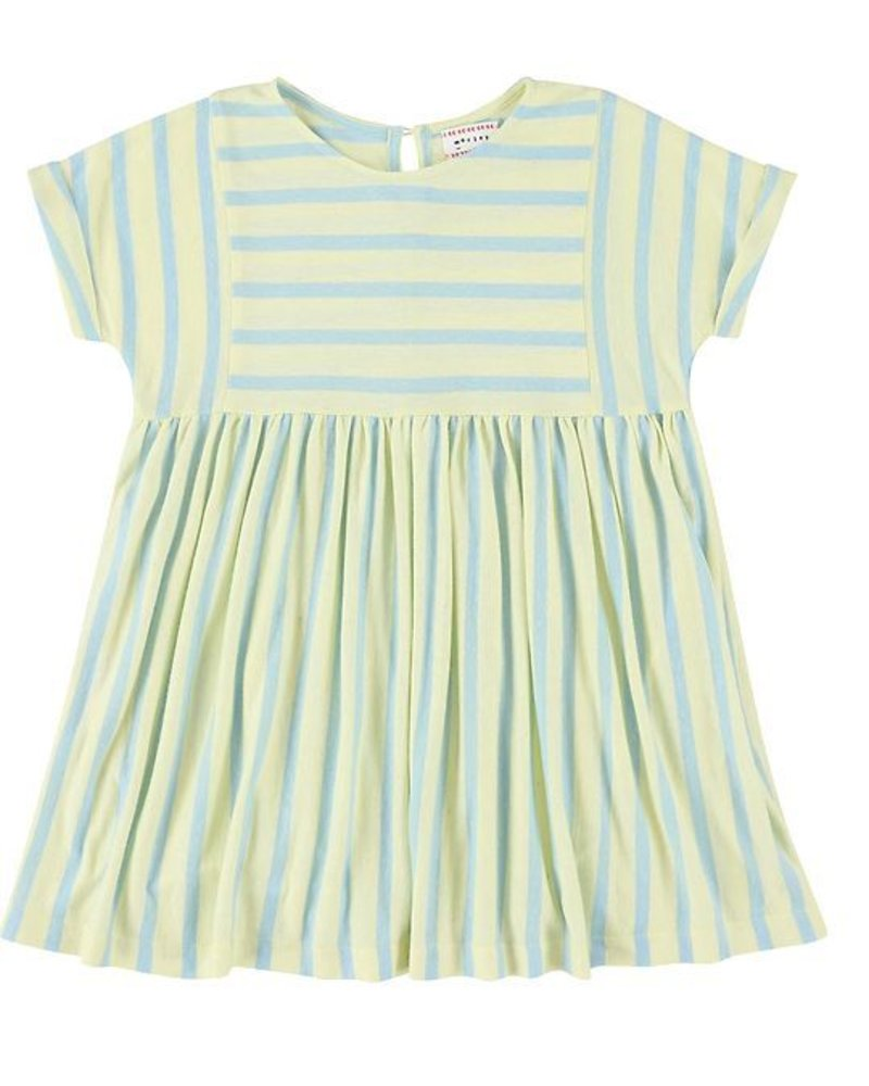 Dress - Jeanne stripe yellow
