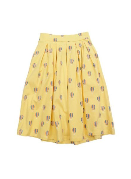 Long Skirt - Rafaella Balloon Yellow