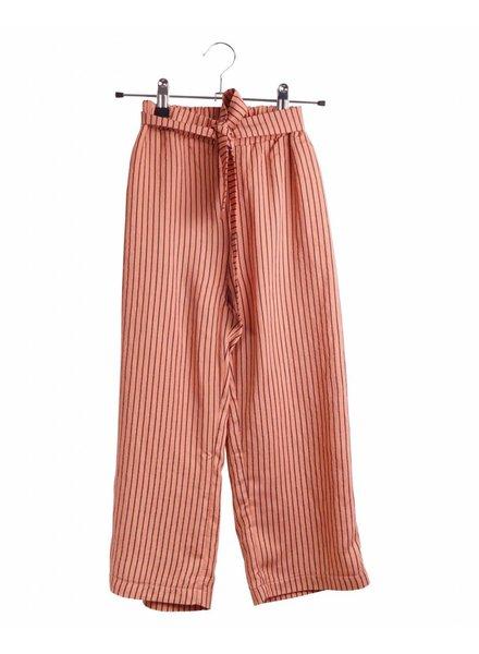 Pants - Donna Apricot Stripes