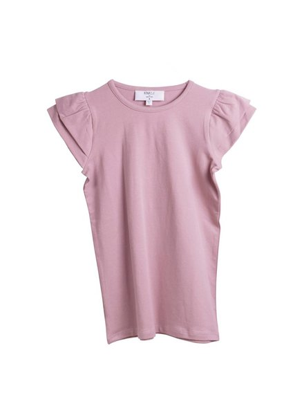 T-shirt - Wings Dusty Mauve