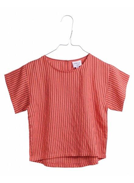 OUTLET // T-shirt - Liv Red Stripes