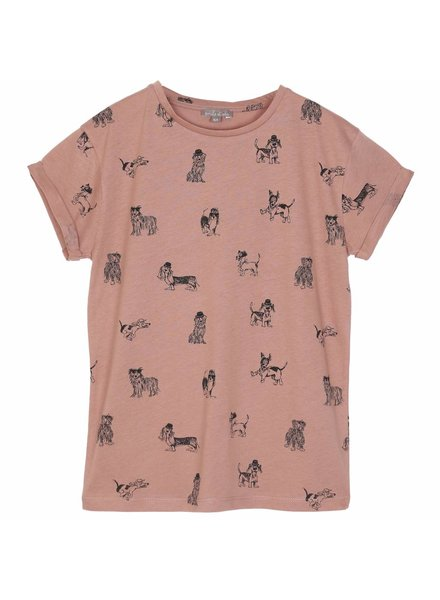 T-shirt - Terracotta chien