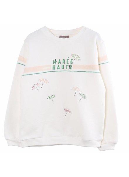 Sweater - Ecru maree haute