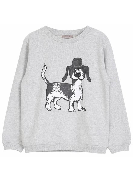 Sweater - Gris chine chien