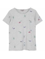 T-shirt - Gris chine plongeur