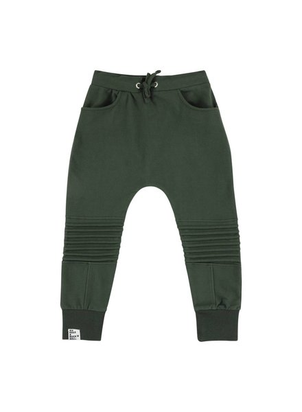 Sweatpants - Green Biker