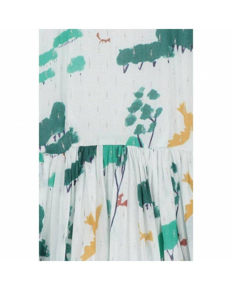 dress - Pixi Creme Forest