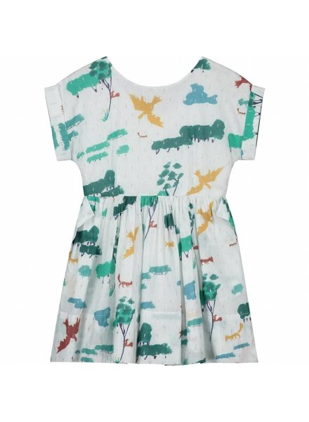 dress - Pixi Creme Forest