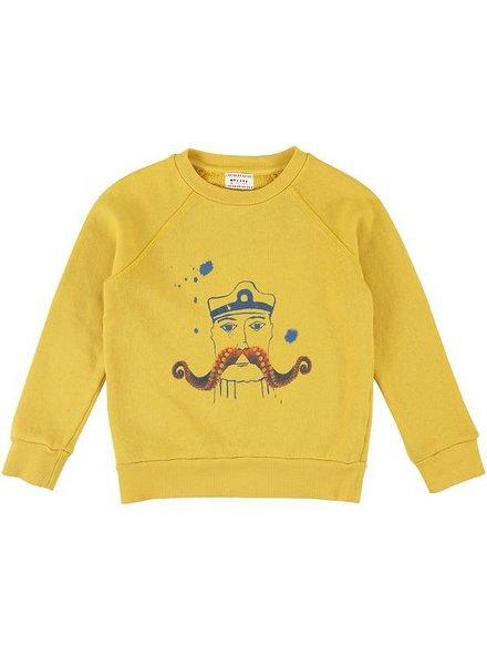 Sweater - Bass octopus camel