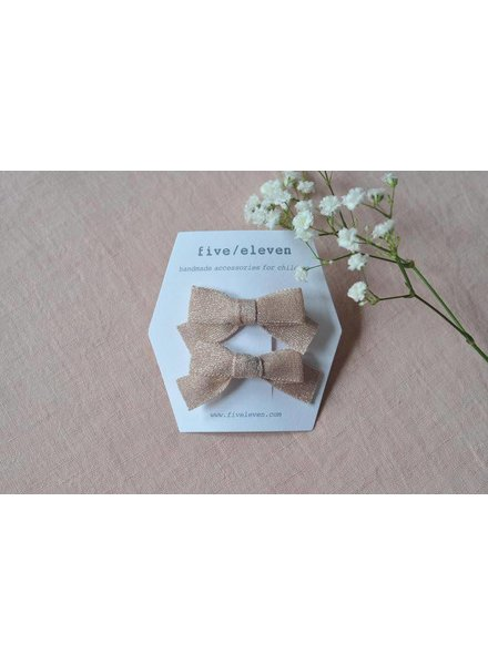 Hair accessories - japanese bows powder