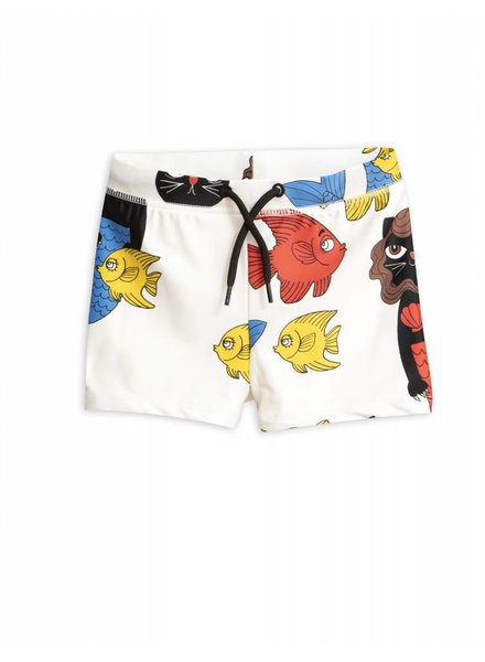 Swimpants - Cat mermaid offwhite