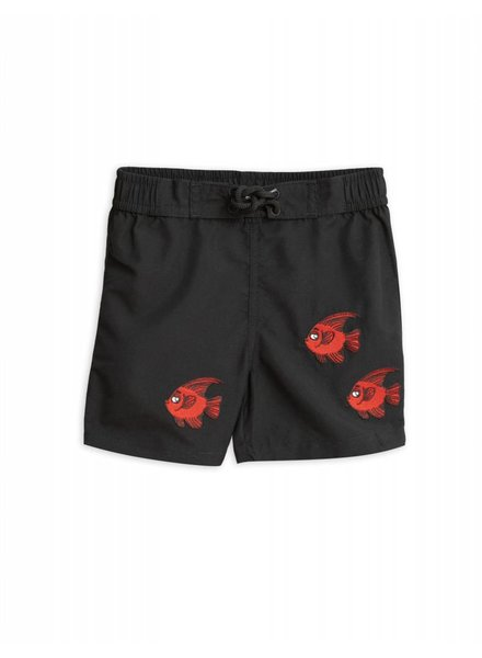OUTLET // Swimshorts - Fish limite black