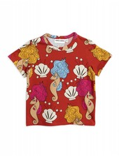 OUTLET // T-shirt - Seahorse red
