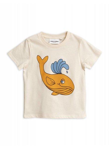 T-shirt - Whale offwhite