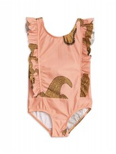 Swimsuit - Crocco ruffled pink
